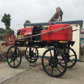 水田专用四轮打药机 大型拖拉机式打药车