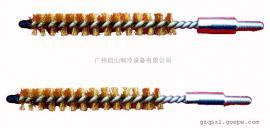 铜丝刷,公制M6螺纹清洗刷,铜刷中央空调 冷凝器管道清洗