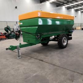 拖拉机牵引式撒肥机 有机肥施肥机