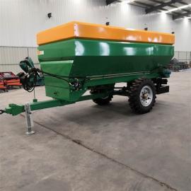 有机肥撒肥机 拖拉机后置大型撒肥机