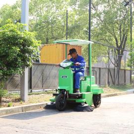 室外驾驶式扫地车清扫喷水全自动物业清扫车洁乐美S1650扫地机