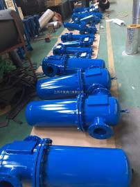 法兰式压缩空气精密过滤器 压缩空气法兰连接除油水过滤器