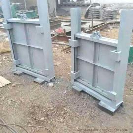 平面钢闸门 翻板钢闸门钢闸门喷锌防腐处理