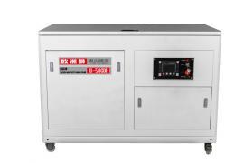 50kw静音汽油发电机