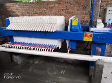 60平方压滤机 电镀废水压滤机 兴泰电子废水压滤机