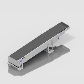 GNF-1420伸缩式皮带机 输送流水线 防爆输送机 物流输送线