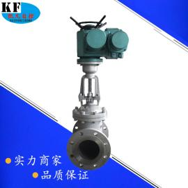 Z941H-40C智能调节型电动铸钢法兰闸阀 模拟量调节电动闸阀dn200