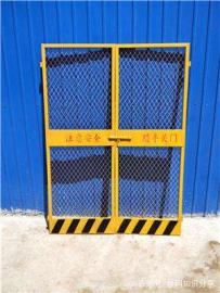临时施工电梯门 升降机安全门 现货施工电梯安全门