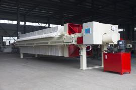 程控自动拉板厢式压滤机,用于各种悬浮液固液分离行业