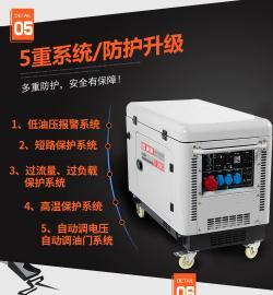 12KW柴油发电机GT-1500TSI
