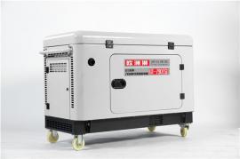 广播车使用7kw柴油发电机油耗