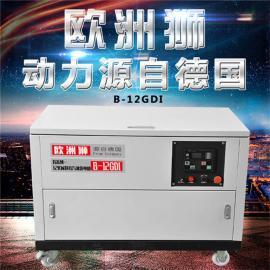 冷库用20kw静音汽油发电机体积