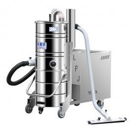 厂房新建清扫灰尘用吸尘器乐普洁LP510大功率工业吸尘器100L桶