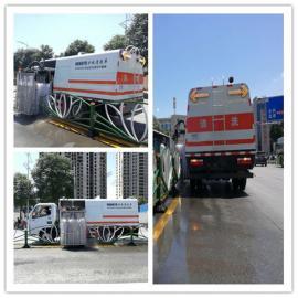 国六大型护栏清洗车 清洗隔离带的车