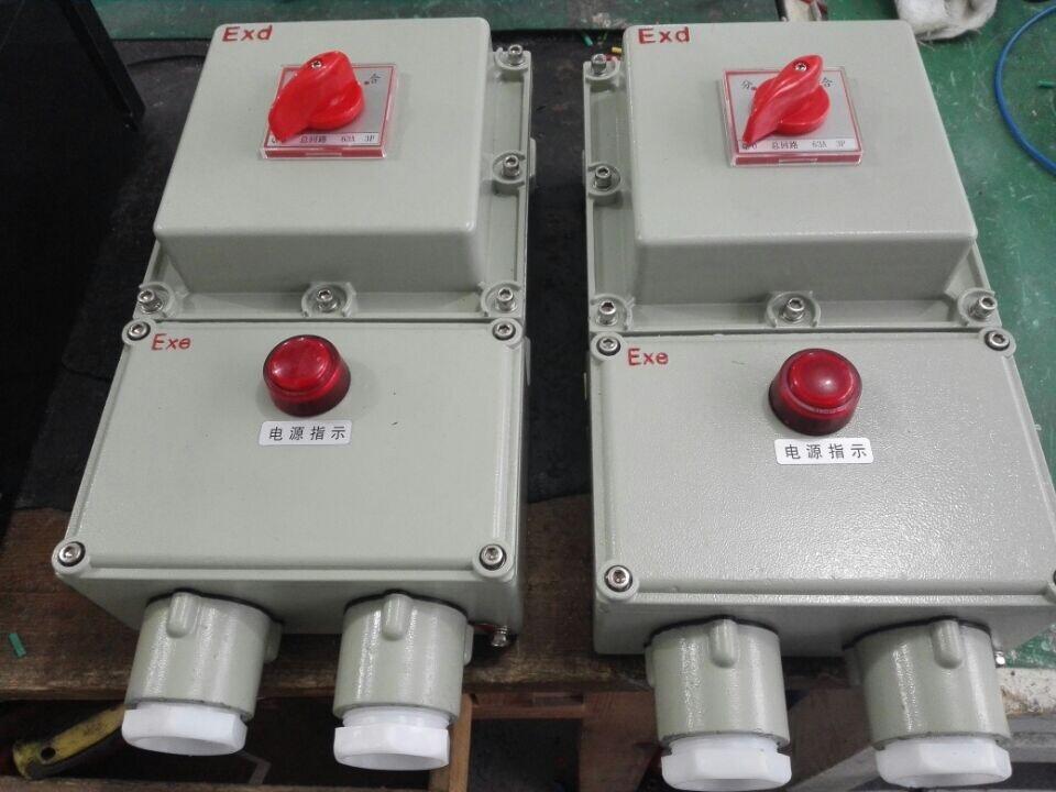 BLK52-63A/3PL防爆断路器带漏电保护380V