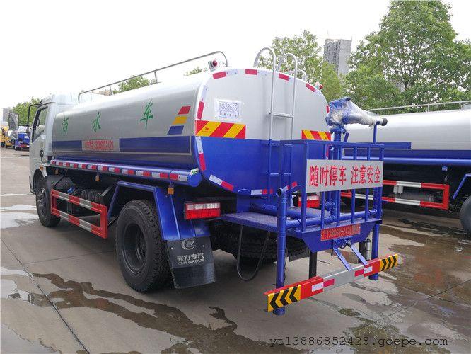 国六10吨洒水车详细配置 10方洒水车报价