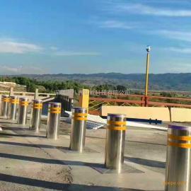 通八洲SN-LZ30系列科技馆防冲撞学校气动升降柱