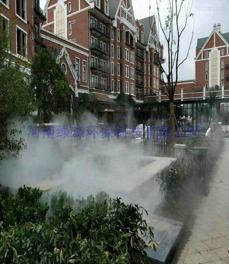 人工造雾设备-高压冷雾设备-喷雾加湿系统