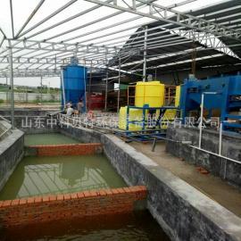 专业洗沙污泥处理设备带式污泥压滤机环保达标中科贝特现场考察