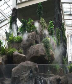 人造雾景观设备人间仙境
