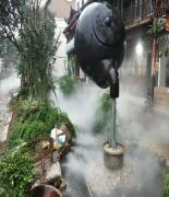 户外广场喷雾造景系统经久耐用