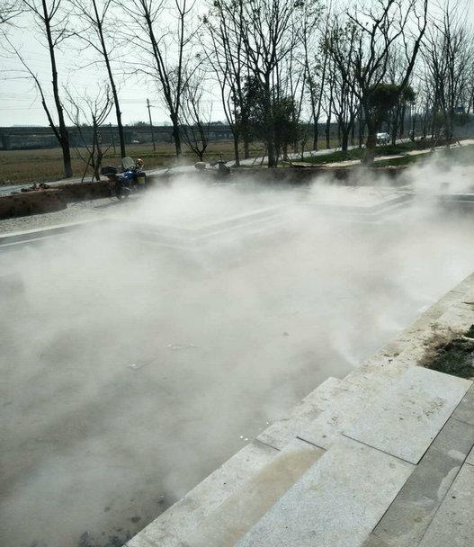 景观造雾设备降温除尘