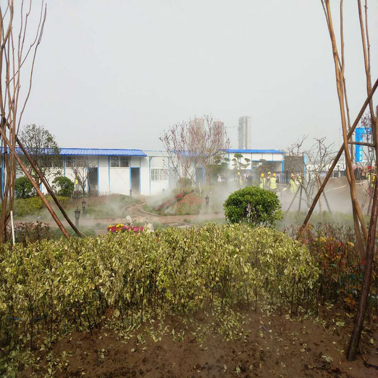 景区雾森系统增加负氧离子