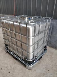 不锈钢IBC方桶 1000KG铁架子桶