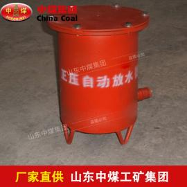 正压自动放水器,正压自动放水器产品结构,正压自动放水器