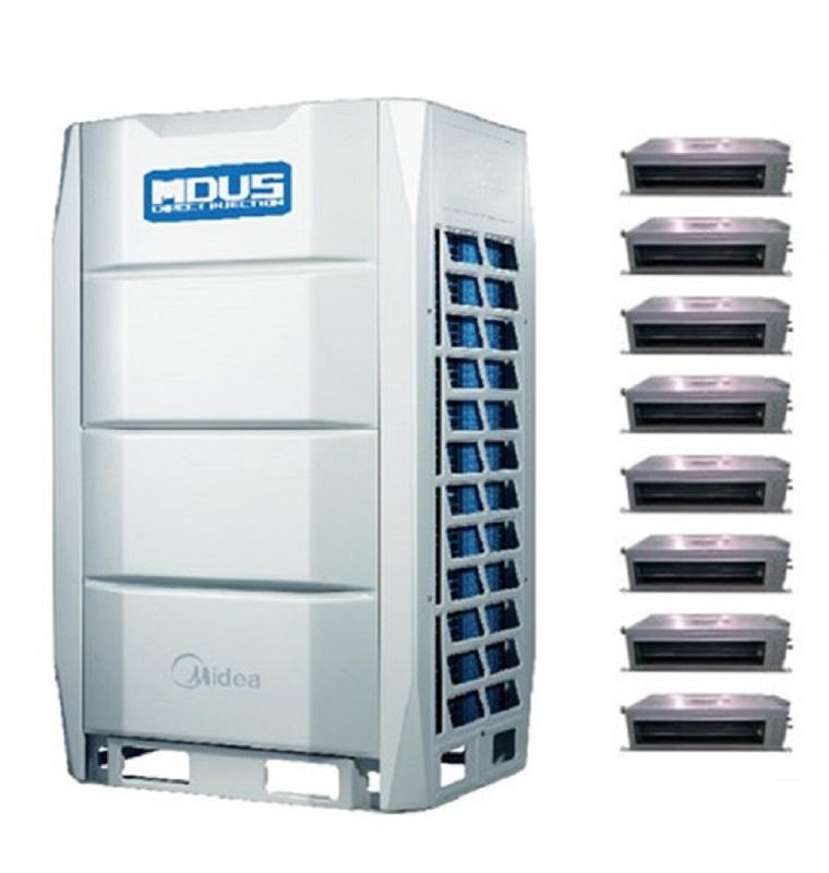 美的商用中央空调 商用全变频多联机主机室外机 美的多联机