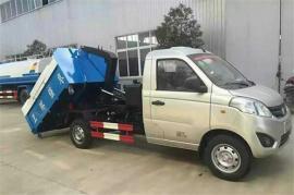汽油小型1.5吨2方3方挂桶钩臂垃圾车