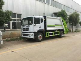 东风10吨D9新款153压缩式垃圾车