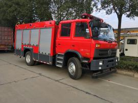 消防灭火性能卓越的东风6吨泡沫消防车