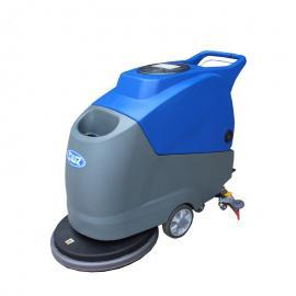 全自动手推式电瓶洗地机X2d 工厂保洁用洗地吸干机