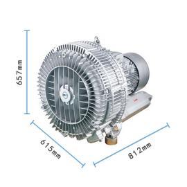 RB-94s大功率立式鼓风机双叶轮高压风机25KW风机厂商