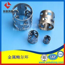 污泥处理工程湿式脱酸塔用316L鲍尔环填料 金属鲍尔环填料
