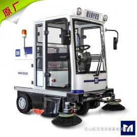 吴江纺织厂用大型全封闭扫地机工厂物业道路保洁用清扫车E800LD