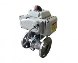 Q941TC+Q941SC+电动陶瓷球阀+电动调节阀+电动O型球阀