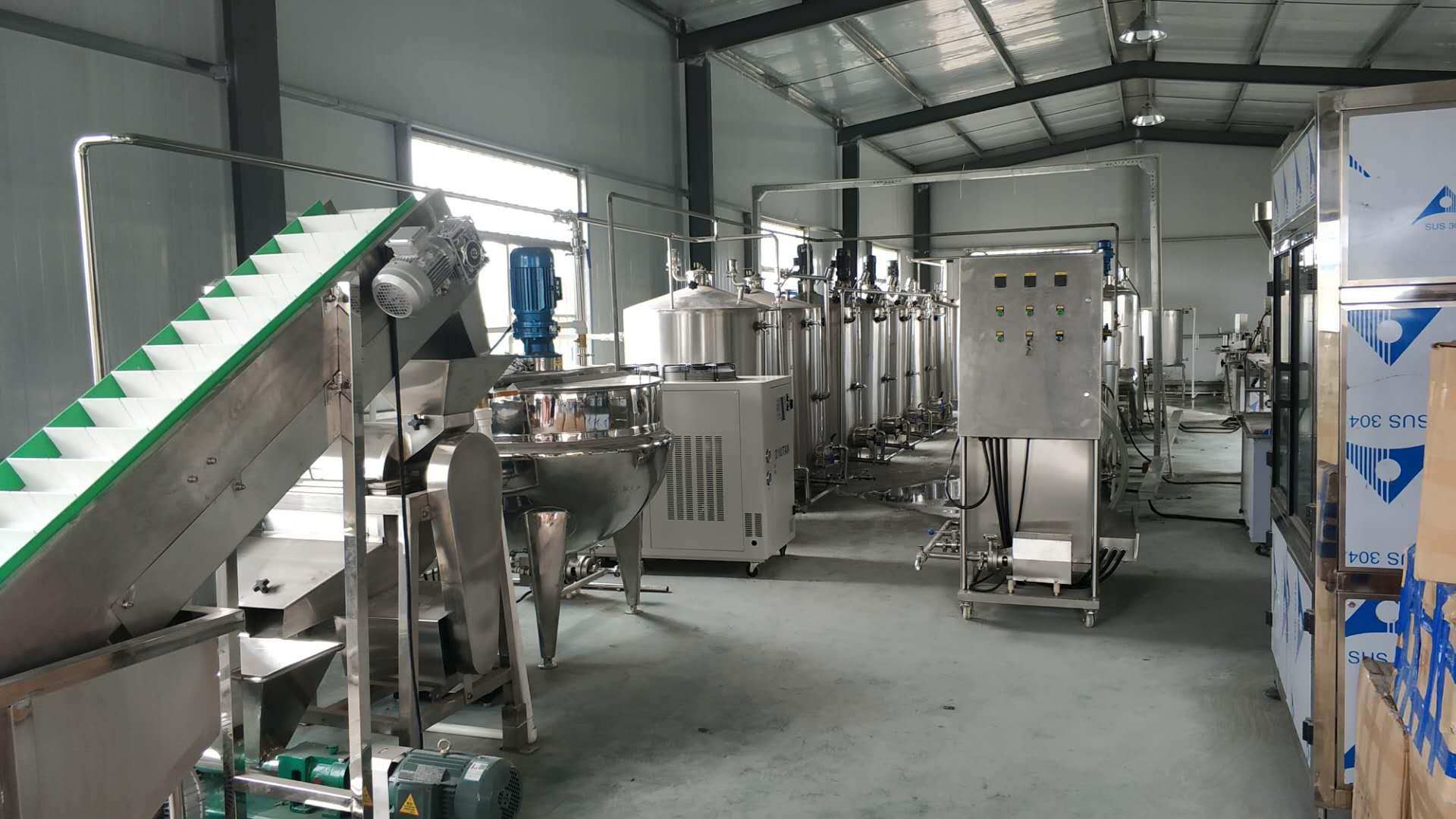 锐元研发型果汁饮料生产线小试生产水果果汁饮料