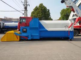 12方移动压缩式垃圾箱 小区生活垃圾中转站