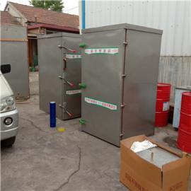 40盘单门蒸房 鑫乐源生产推车食品蒸箱 电气两用蒸车保质保量