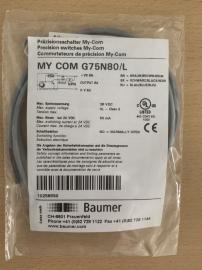 全新原装正品Baumer堡盟接近开关传感器MY COM G75N80/L 现货