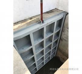 弘鑫 平面型钢闸门 弧形钢闸门 自控翻板钢闸门
