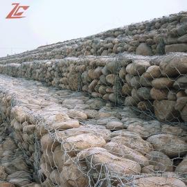 卓昌双绞格网挡墙 防洪坝建设铅丝笼 宾格笼 格宾笼