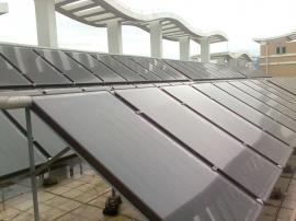 家用分体平板式壁挂太阳能热水器