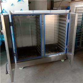 鑫乐源热卖电气两用蒸柜 自动进水电蒸箱 不锈钢蒸车 移动灵活