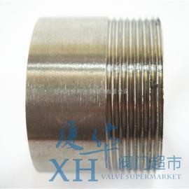 201不锈钢单头丝 外牙接头/管子丝/管子外丝/单头螺纹管道