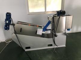 鼎越叠螺机污泥压榨浓缩一体机工业机械石油污水处理设备