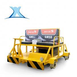 轨检车检修车车载式锂电池蓄电池两四人座铝合金