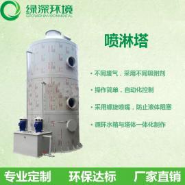 PP喷淋塔电镀橡胶废气处理环保设备填料喷淋塔除尘酸雾净化塔
